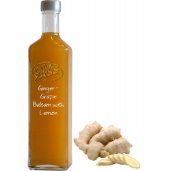 Grape Balsamic Vinegar with Ginger and Lemon