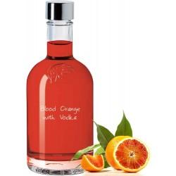 Blood Orange with Vodka
