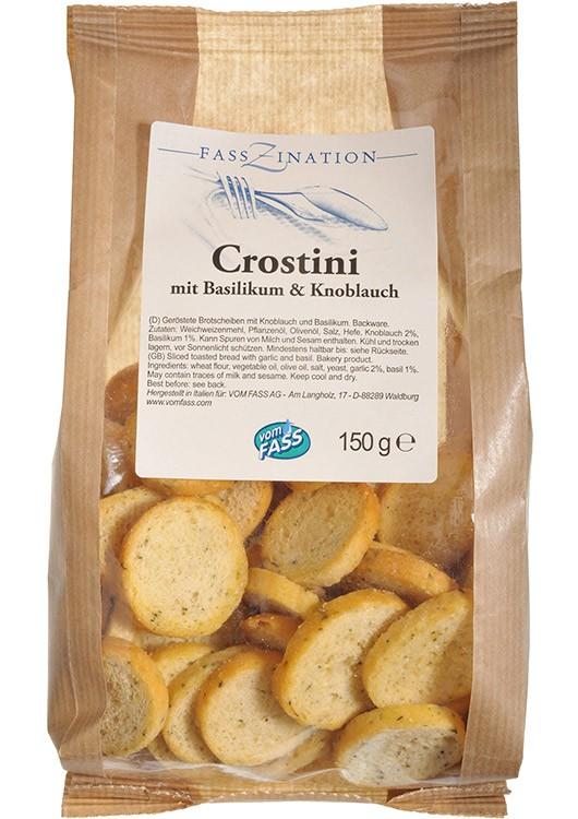 Crostini Knoblauch & Basilikum