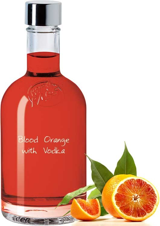 Blood Orange with Vodka