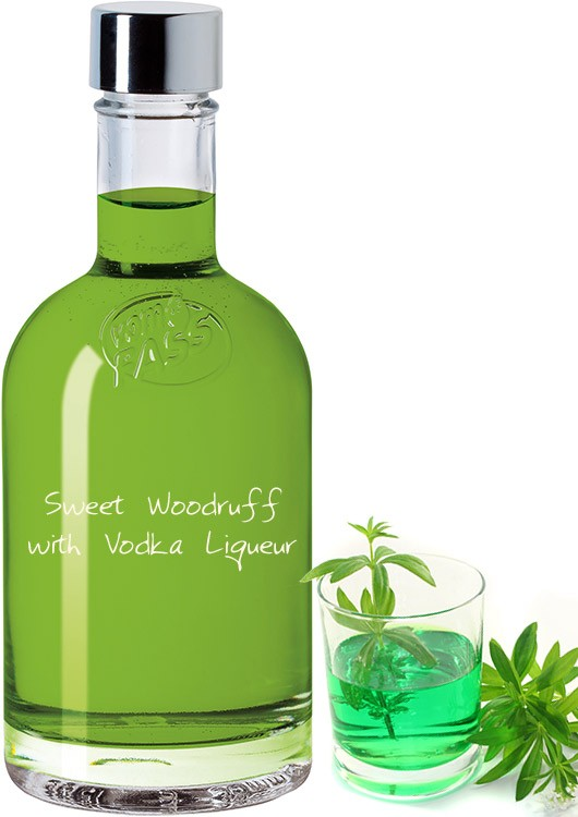 Sweet Woodruff with Vodka Liqueur