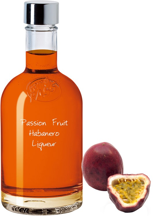 Passion Fruit Habanero Liqueur