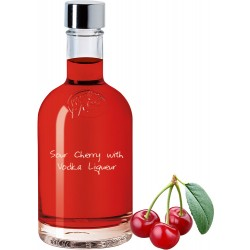Sour Cherry with Vodka Liqueur
