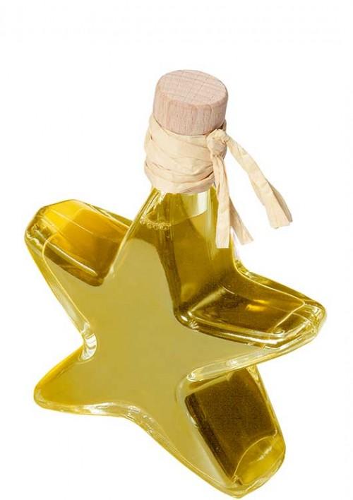 Orangenöl in Sternflasche