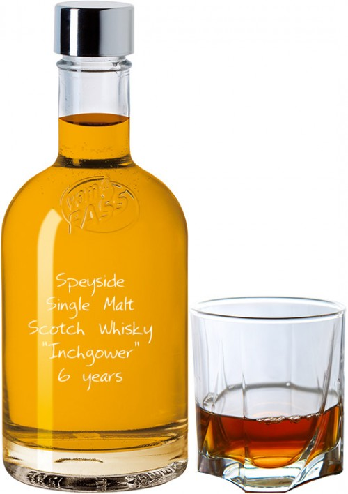 "Speyside Single Malt Scotch Whisky ""Inchgower"" 6 Jahre"