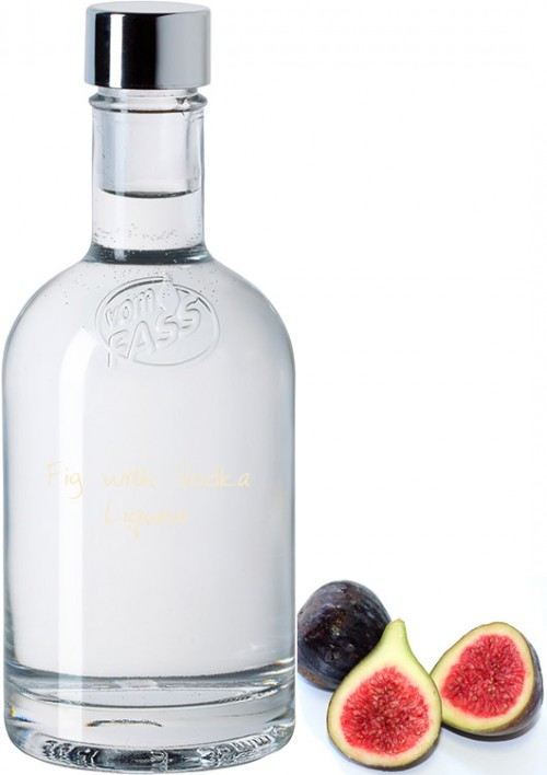 Fig with Vodka Liqueur